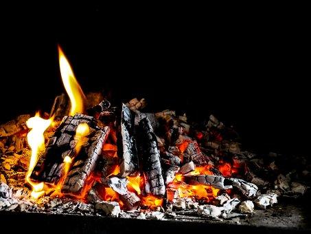 Flare-up, Heat, Burn, Brand, Campfire, Joy Fire, Hot