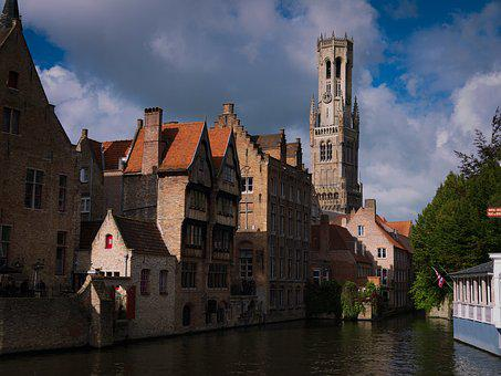 Architecture, River, Old, Travel, City, Gothic, Church