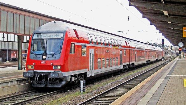 Regional-express, Doppelstockzug, Schubzug, Tax Car