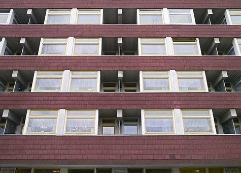 Apartment House, Architecture, Uniform, Dorm