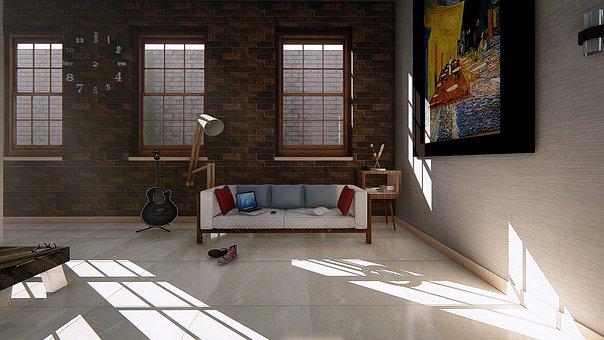 Inside The House, Inside, Window, Room, Home, Furniture