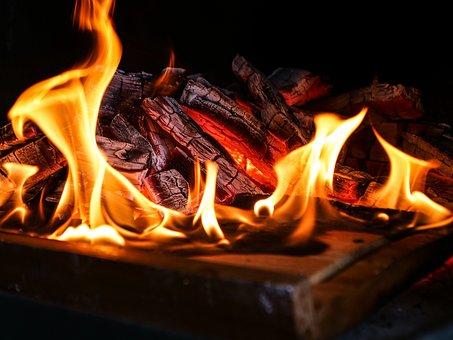 Flare-up, Fireplace, Heat, Joy Fire, Hot, Campfire