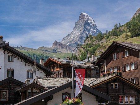 Zermatt, Switzerland, Homes