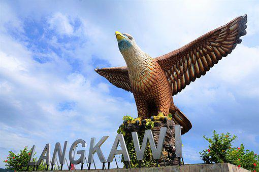 Nature, Sky, Travel, Summer, Adler, Langkawi, Island