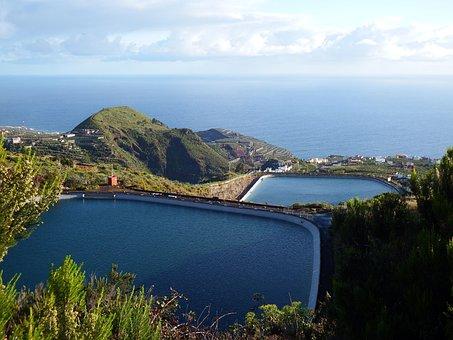 San Andrés Y Sauces, Llano Clara, Reservoir, La Palma