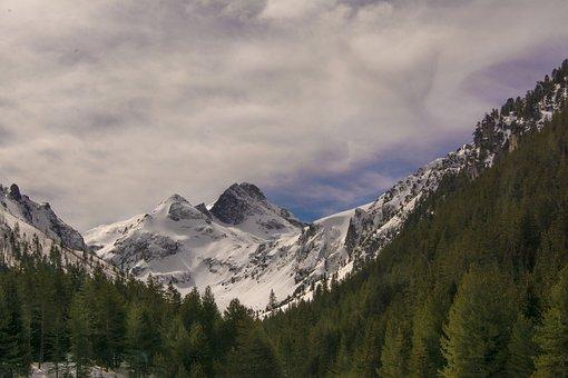 Mountain, Snow, Panoramic, Nature, Travel, Malyovitsa