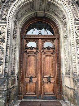 Architecture, Door, Travel, Input, Old, Facade
