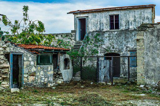 House, Architecture, Abandoned, Old, Building, Facade