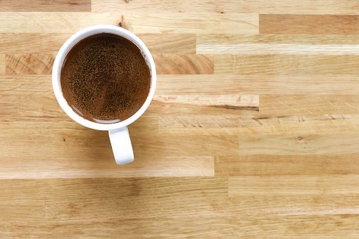 Wooden, Rustic, Coffee, Teacup, Mug, Dining Table
