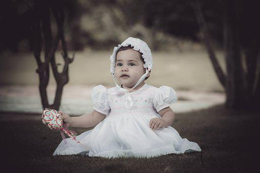 Child, Nice, Small, Outdoors, Portrait, Happiness