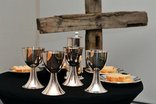 Last Supper, The Bread And Wine, Eucharist Chalice