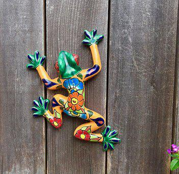 Frog, Wood, Wooden, Decoration, Retro, Traditional