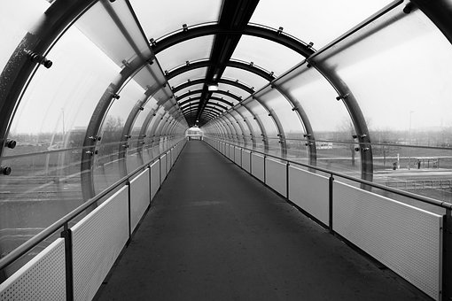 Empty, Architecture, Inside, Gang, Travel, Tunnel