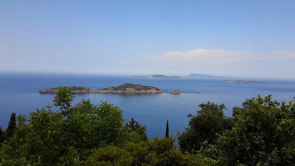 Water, Nature, Sea, Panoramic, Travel, Island, Summer