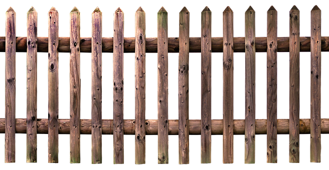 Fence, Wood Fence, Fence Element, Garden Fence, Paling