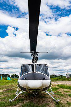 Sky, Transport, Helicopter, Aircraft