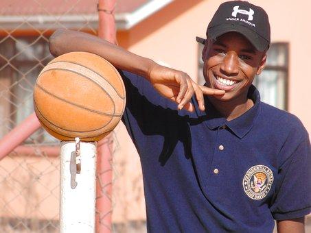 Basketball, Young, Athlete, Training