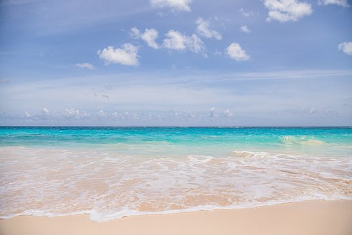 Sand, Summer, Tropical, Water, Sun, Beach, Turquoise