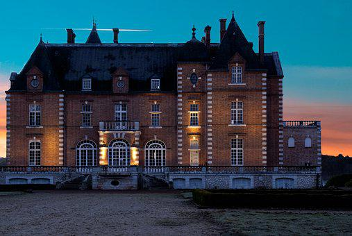 Architecture, Outdoor, Sky, Castle, Manor, France
