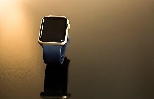Clock, Applewatch, Smart, Wrist Watch