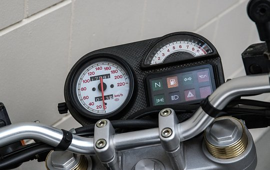 Speedometer, Motorcycle, Tachometer, Ducati, Gauge
