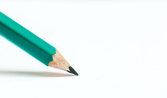Pencil, Writing, Education, Sharp