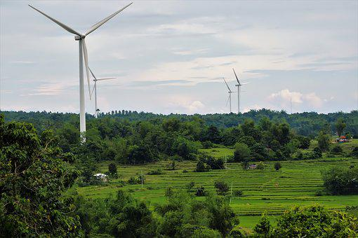 Electricity, Turbine, Power, Energy, Environment