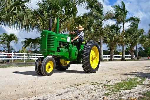 Tractor, Antique, Farm Equipment, Transportation System