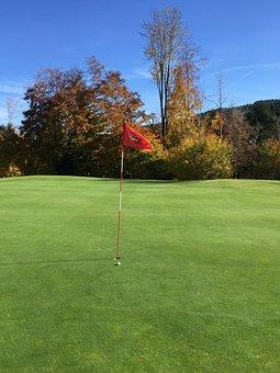 Golf, Grass, Rush, Putten, Golfers, Golf Club, Nature