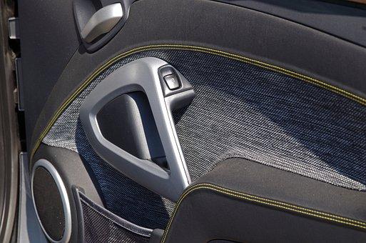 Auto, Door, Interior Trim, Leather, Door Handle