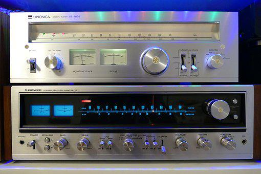 Stereo, Knob, Audio, Sound, Pioneer