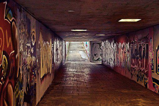 Within, Tunnel, Empty, Dark, Passage