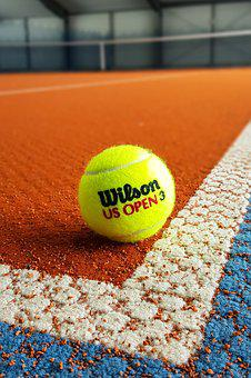 Tennis, Ball, Sport, Background, Bat, Play, Competition