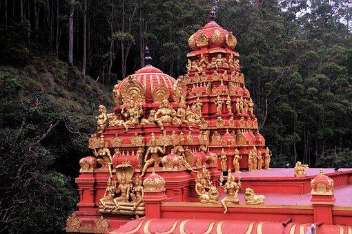 Temple, Indian, Religion, Spirituality, Sculpture