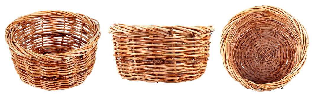 Basket, Wicker Basket, Harvest, Garden, Summer