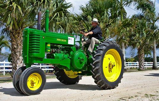 Tractor, Machine, Transportation System, Wheel