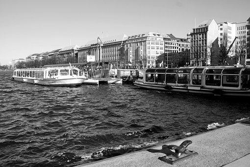 Black And White Photography, Transport System, Waters