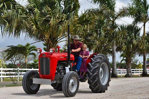 Summer, Transportation System, Vehicle, Wheel, Tractor