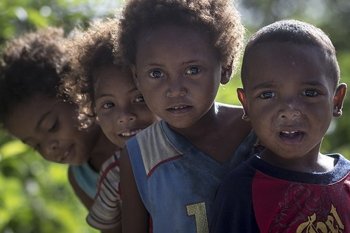 Child, Outdoors, Son, Portrait, Afro, Aetas, Tribe