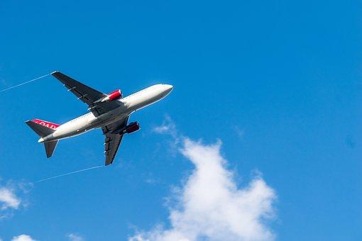 Airplane, Aircraft, Sky, Flight, Jet