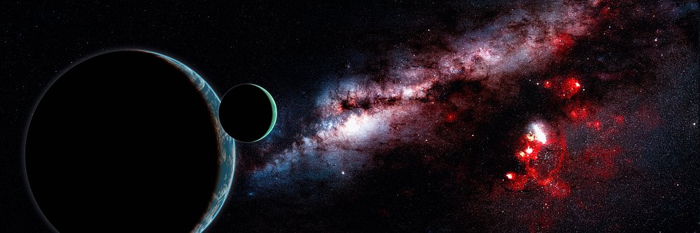 Background, Space, Darkness, Astronomy