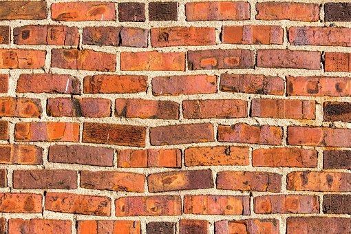 Brick, Wall, Cement, Cube, Brickwork