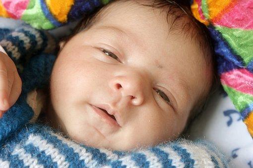 Child, Baby, Cute, Little, Newborn, Blanket, Beautiful
