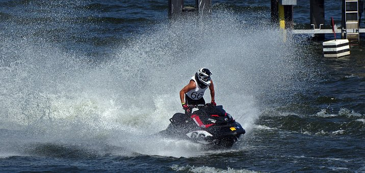 Jet Boat, Water Sports, Motor Boat Race, Competition