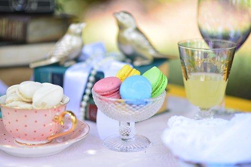 Cake, Dessert, Food, Cream, Sugar, Cup, Birds Golden