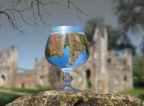 Nature, Glass, Reflection, Glass Glass, Diffusion