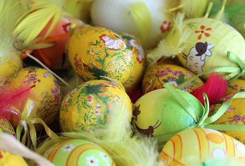 Eggs, Easter Eggs, Christmas Decorations, Easter
