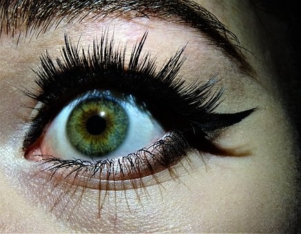 I, Color, Eye, Eyeball, Eyelash, Vision, Eyebrow, Blue