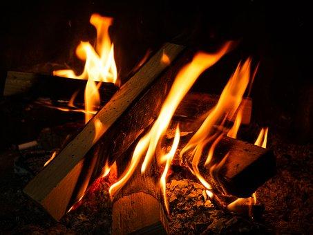 Flare-up, Heat, Fireplace, Hot, Joy Fire, Campfire