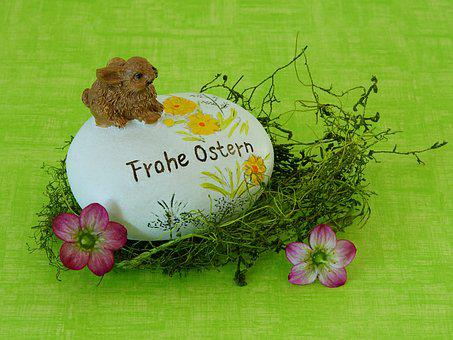 Easter, Happy Easter, Spring, Easter Bunny, Flowers